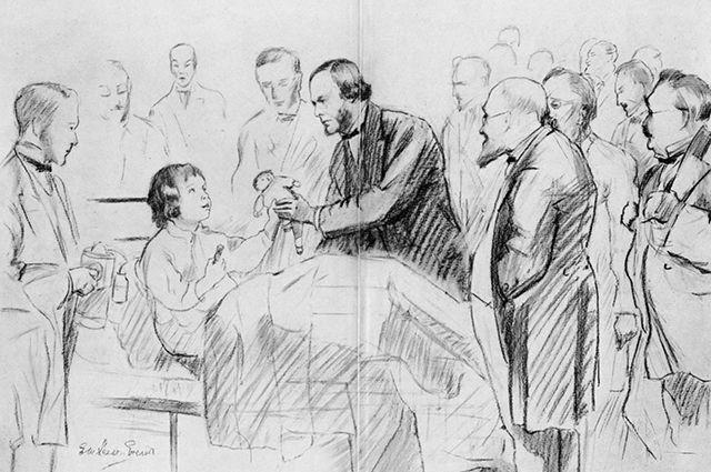 Основоположник антисептики Джозеф Листер.