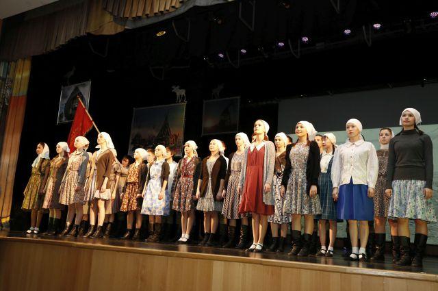 Концерт к 85-летию Югры на сцене КДЦ