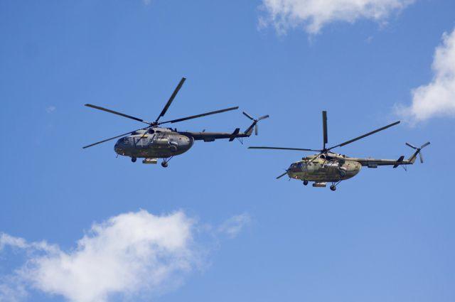 Безопасность будут обеспечивать на вертолётах.