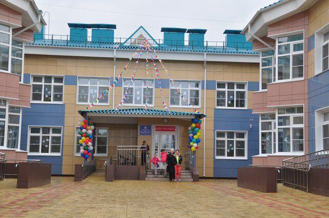 Новый детский сад готов принять ребятишек.