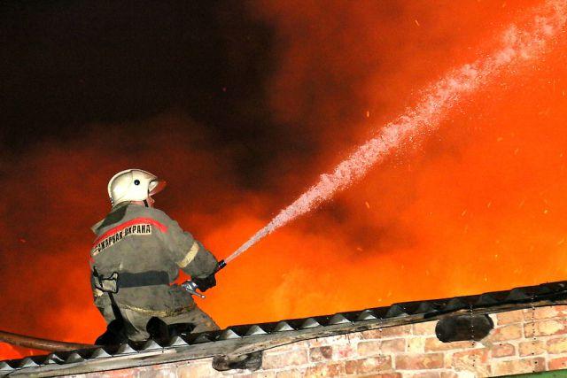 Пожар в Смоленске унес жизни 4 человек.