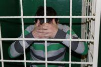 Задержанный в полиции Нягани.