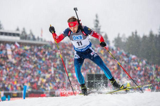 Российские биатлонисты выиграли эстафету в Австрии