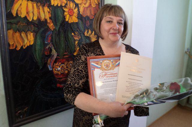 За годы трудовой деятельности у Ирины Быковой накопилось много почётных наград.