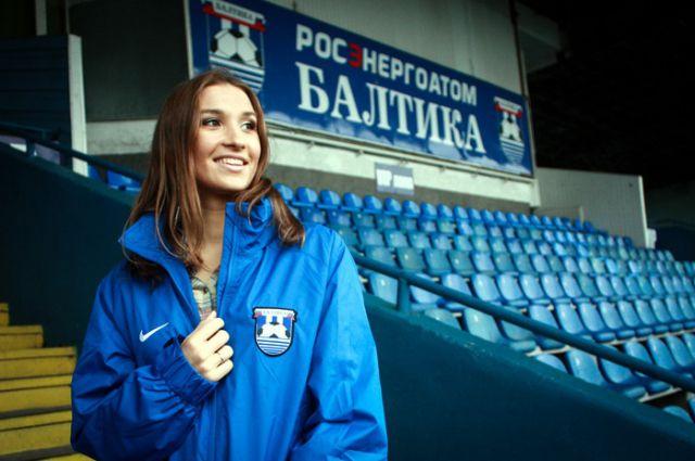 23-летняя калининградка Наталья Цуварева - «Мисс Балтика-2015».
