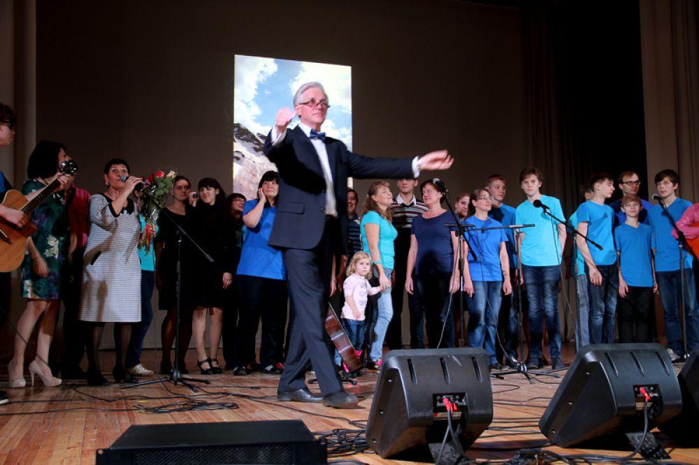 В финале выступил сводный хор двух городов - Ульяновска и Самары.