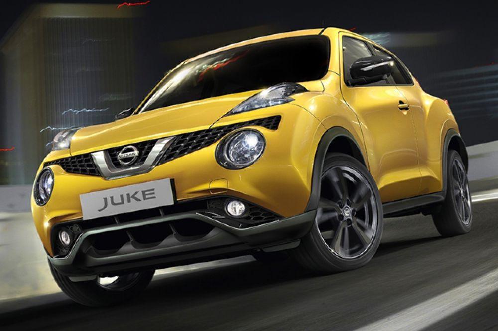 У занявшего второе место Nissan Juke симпатичную внешность отметили почти 96 процентов опрошенных.