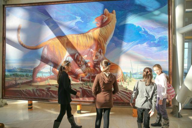 Выставка будет работать ежедневно с 3 декабря по 28 февраля.