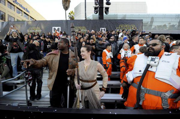 Фанаты киносаги «Звёздные войны»