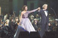 А. Бочелли: «Мне повезло работать с таким красивым сопрано».