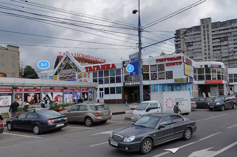 Торговые павильоны у метро Марксистская