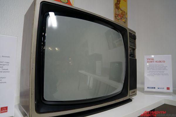 Телевизор Sanyo CTP 7375. На российском рынке компания работает уже 30 лет.