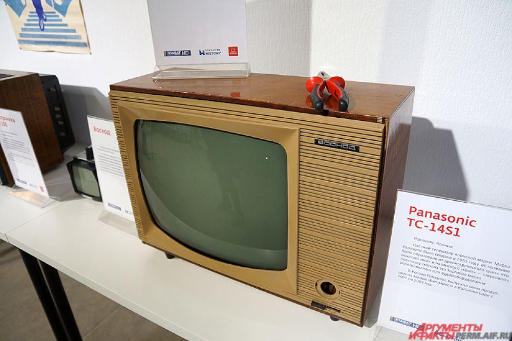 Раритетный ламповый телевизор «Восход». Выпускался небольшой серией с мая 1958 года.