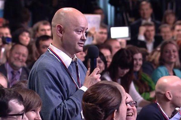 Ещё одним ярким эпизодом стало выступление журналиста, спросившего о «Вятском квасе». Мужчина очень странно говорил, поэтому зрители решили, что он пьян. Владимир Путин прокомментировал: «Чувствую, вы кваску-то уже махнули», однако позже выяснилось, что странная речь вызвана последствиями инсульта.