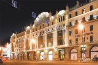 Лучший исторический отель Москвы не раз упомянут классиками, а его залы напоминают жильцам о классике.