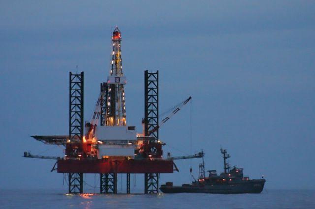 ФСБ направила для защиты объектов «Черноморнефтегаза» сторожевой корабль «Аметист»