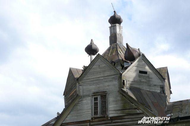 Церковь в Барабанове.