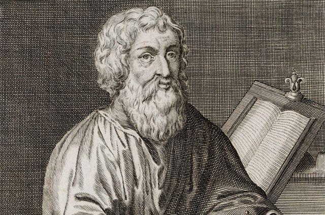 Древнегреческий целитель Гиппократ.