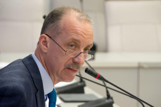 Глава Крайизбиркома Константин Бочаров.