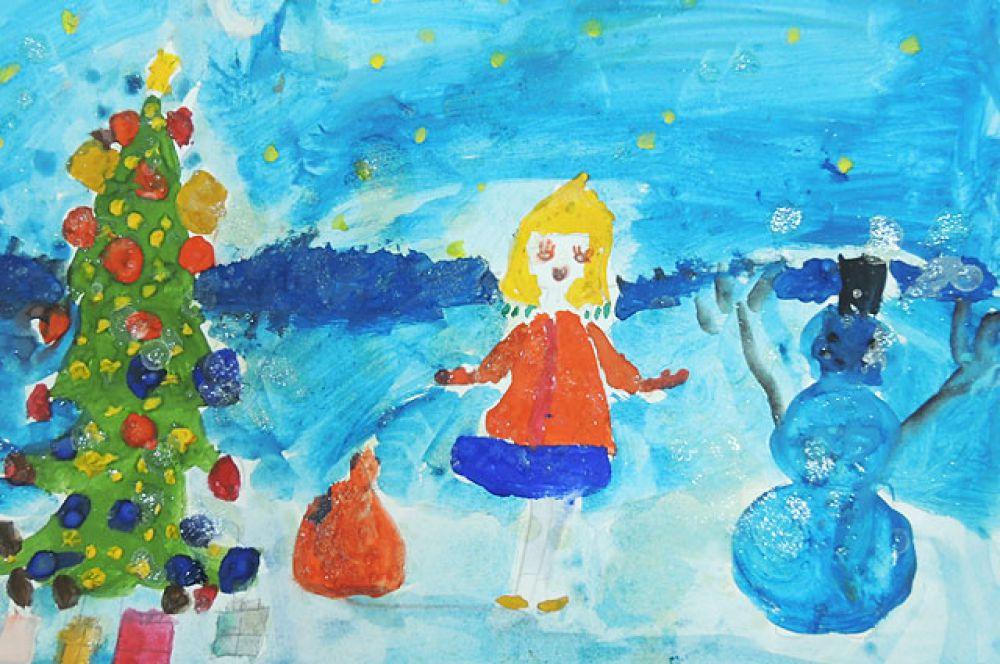 Елизавета Чернова, 8 лет