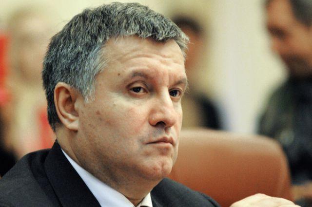 Арсен Аваков во время заседания правительства Украины. 11 ноября 2014 года.