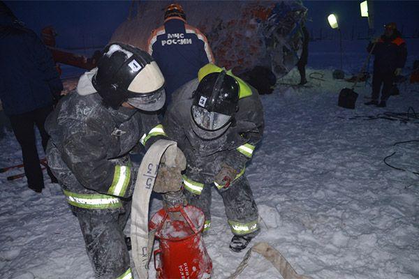 Спасательная операция рядом с Кшукским газовым месторождением в Соболевском районе Камчатки завершена.