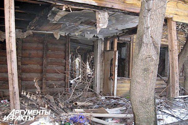 Усадьба Хвощинских. Март 2009 года.