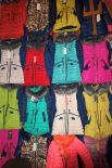 Вы можете подобрать на территории рынка своему ребенку куртку всех фасонов и расцветок.
