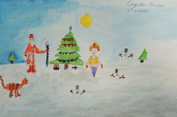 Виктория Стулова, 8 лет
