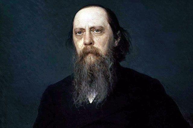 Портрет Салтыкова-Щедрина работы Ивана Крамского.