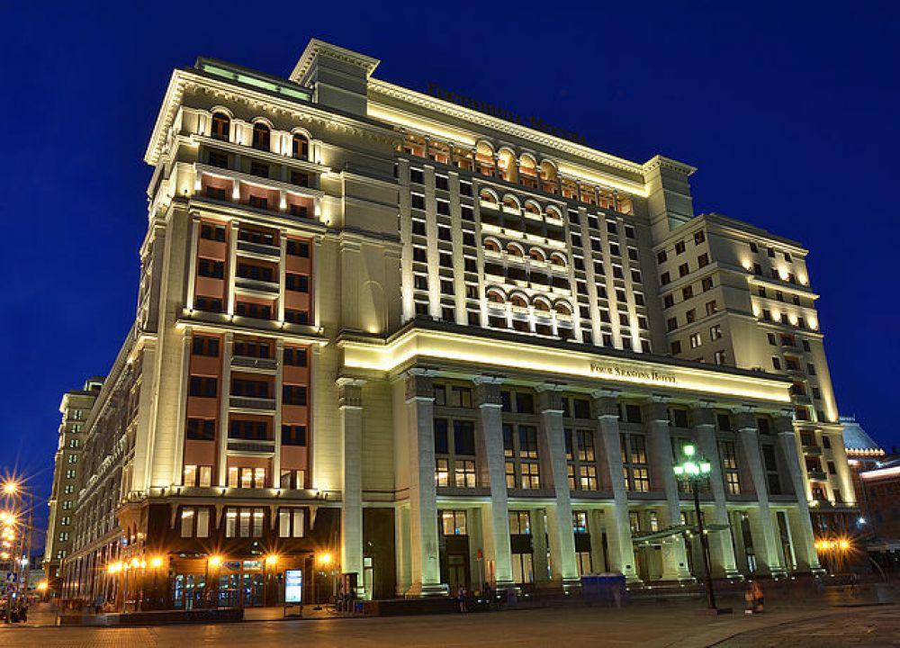 Современное здание гостиницы «Москва», 2014 год.