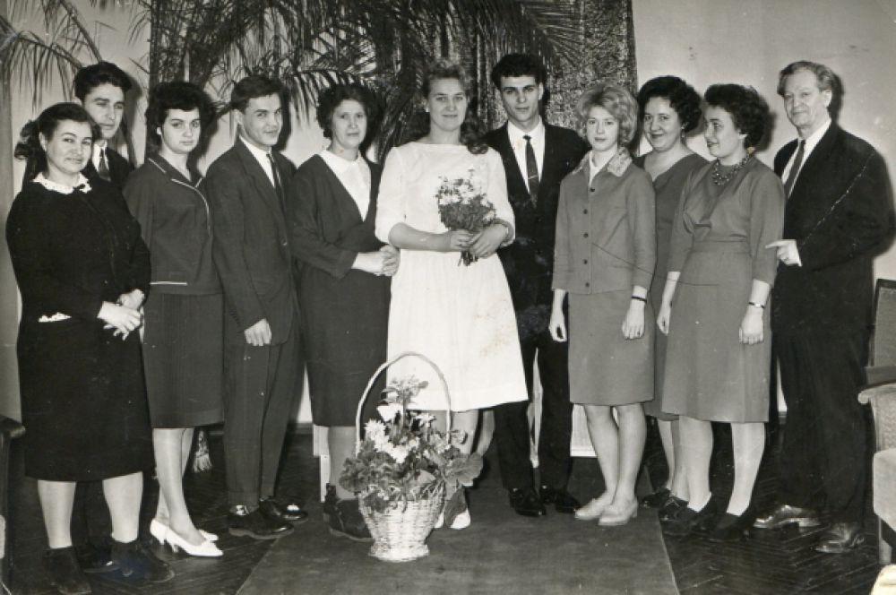 Свадьба семьи Колитс, 1963 год.