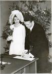 Свадьба семьи Пузырёвых, 1968 год. Модницы заимствуют образ Жаклин Кеннеди