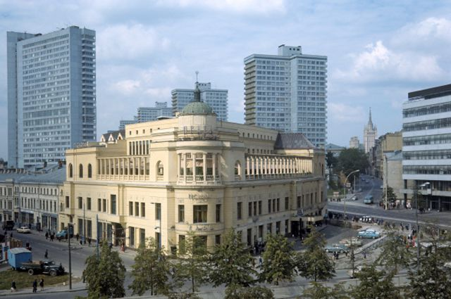 Вид на ресторан «Прага» в 1978 году.