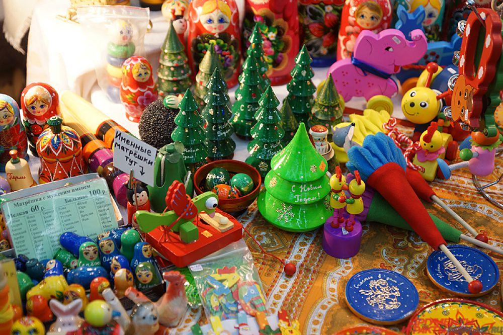 «Ярмарка новогодних подарков» продлится десять дней.