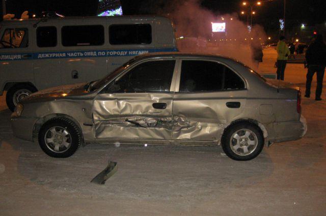 Виновник аварии управлял автомобилем