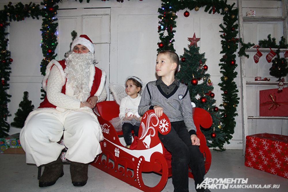 Приёмная Деда Мороза!