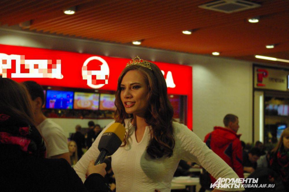 Почетной гостьей кастинга стала Виолетта Игошина, финалистка конкурса «Мисс Россия-2015».