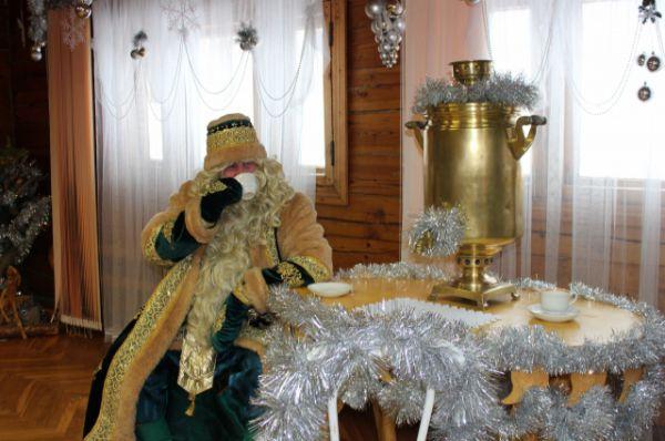 Кыш Бабай в своей резиденции.