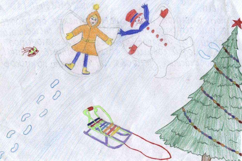 Участник №8. Наумова Надежда,11 лет: