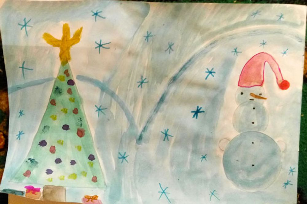 Участник №3. Дарья Фомина, 3 года.