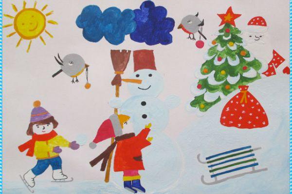 Участник №11. Доскалюк Кира, 6 лет: Люблю лепить снеговика И Новый год встречать! На санках или на коньках Кататься – не скучать!