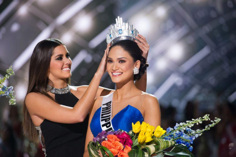 Пиа Алонсо Вуртцбах из Филиппин - «Мисс Вселенная-2015».