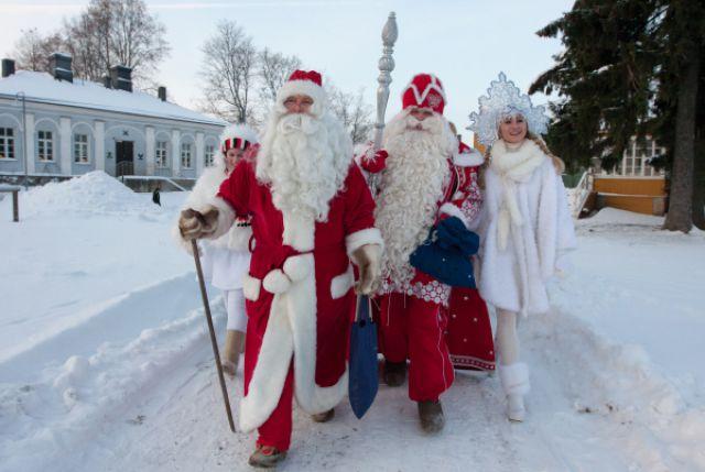 Дед Мороз и Йоулупукки
