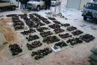 Части диких животных, которые изъяли полицейские, были направлены на судебно-биологическую экспертизу во Владивосток.