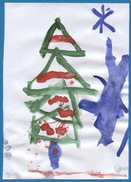 Участник №26. Пахомова Зоя, 4 года: Пришла зима веселая  С коньками и салазками,  С лыжнею припорошенной,  С волшебной старой сказкою.  На елке разукрашенной  Фонарики качаются.  Пусть зимушка веселая  Подольше не кончается!