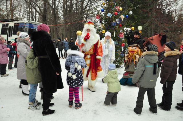 Оценивать будут не только новогодние деревья, но и праздничные представления.