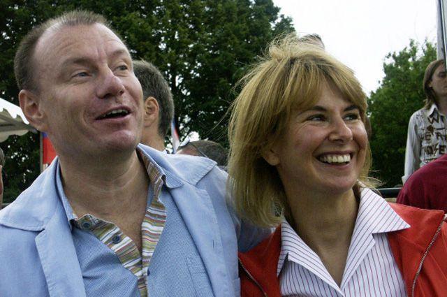 Владимир Потанин и его бывшая жена Наталья Потанина. 2004 г.