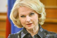 Татьяна Голикова, глава Счётной палаты.
