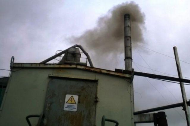 Асфальтобетонный завод загрязнял воздух